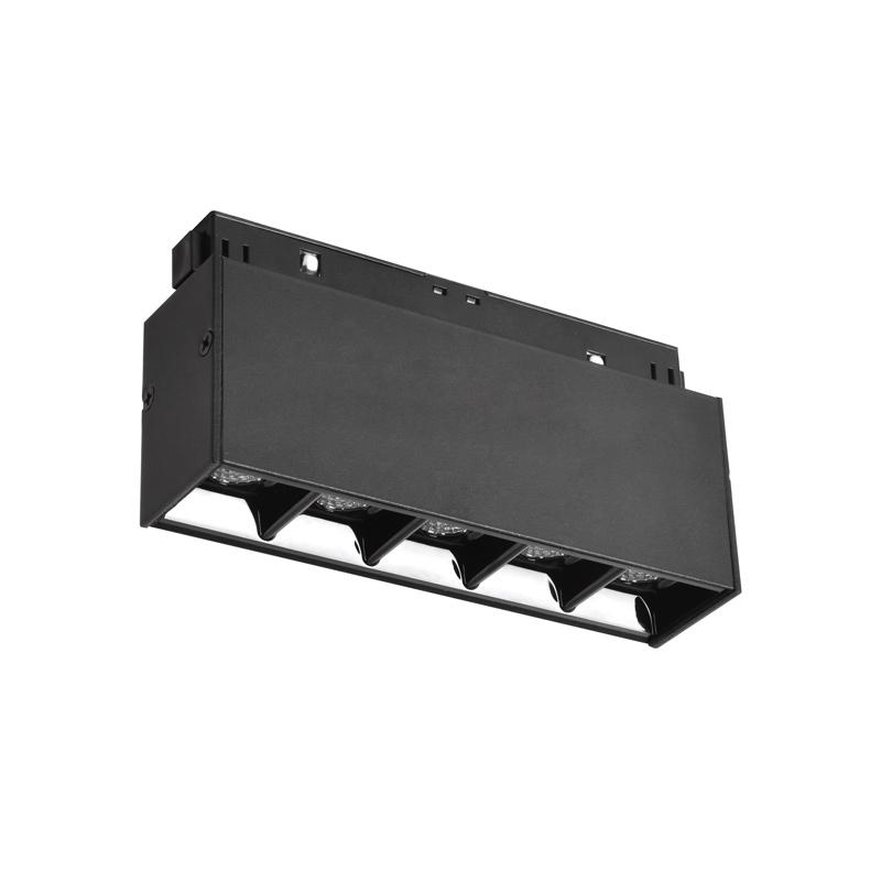 Трековый светодиодный светильник WOLTA WMLY-10W/06B 10Вт 3000К 48В IP40 Магнитный чёрный