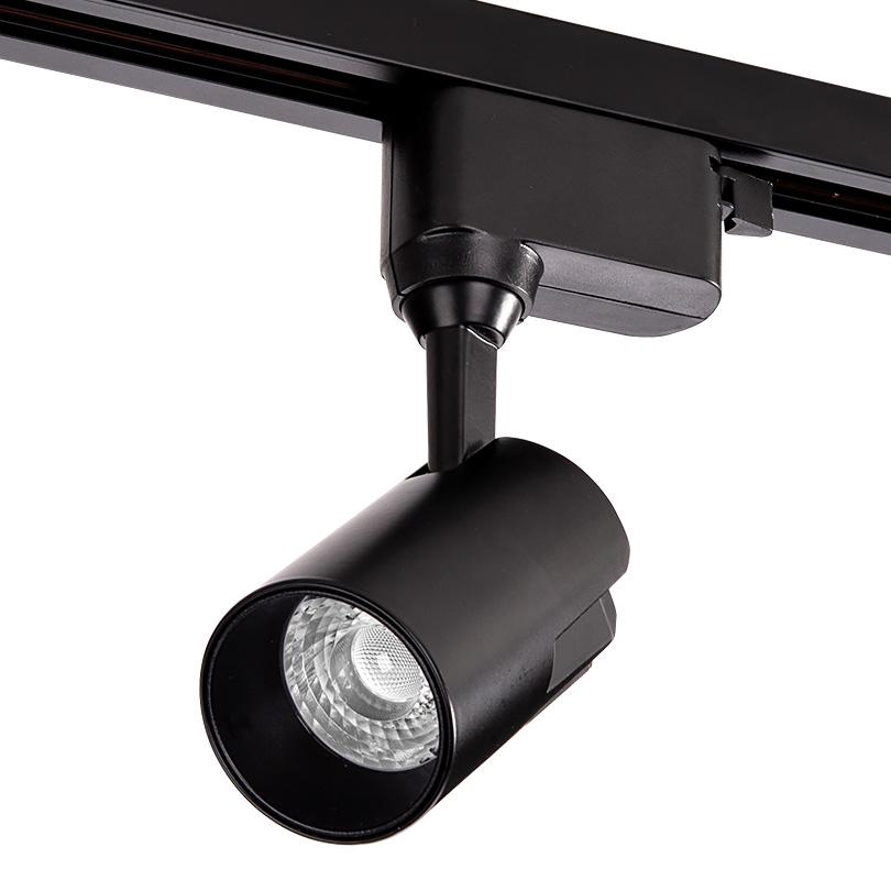 Трековый светодиодный светильник WOLTA WTL-15W/01B 15Вт 4000К IP40 Чёрный