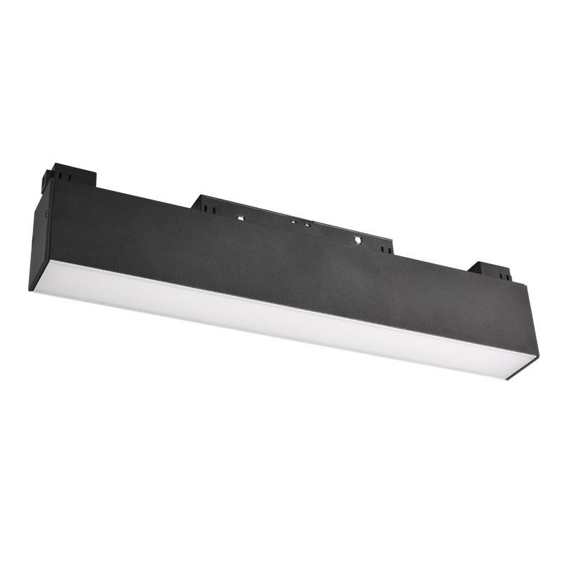Трековый светодиодный светильник WOLTA WMLY-12W/05B 12Вт 3000К 48В IP40 Магнитный чёрный