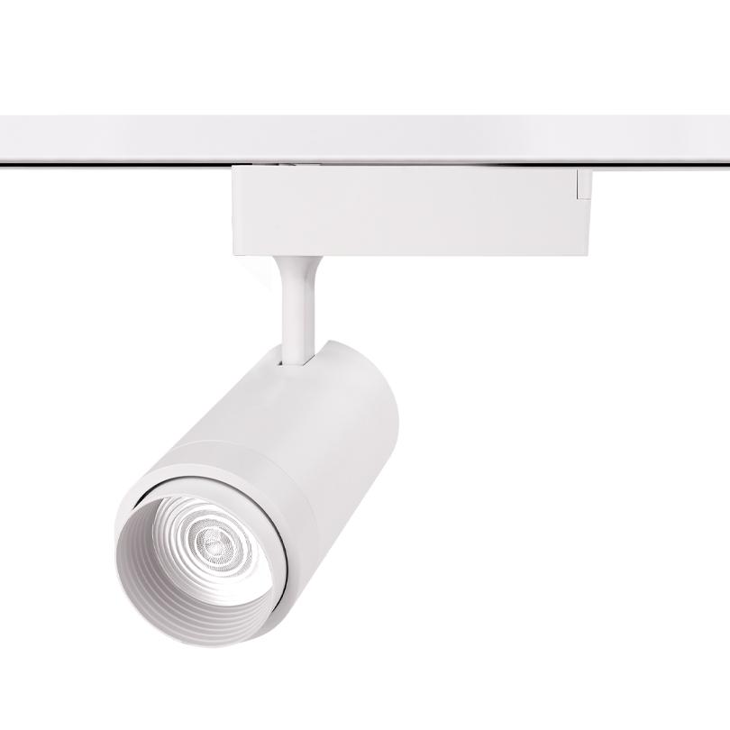 Трековый светодиодный светильник WOLTA WTL-25W/02W 25Вт 4000К IP20 Белый