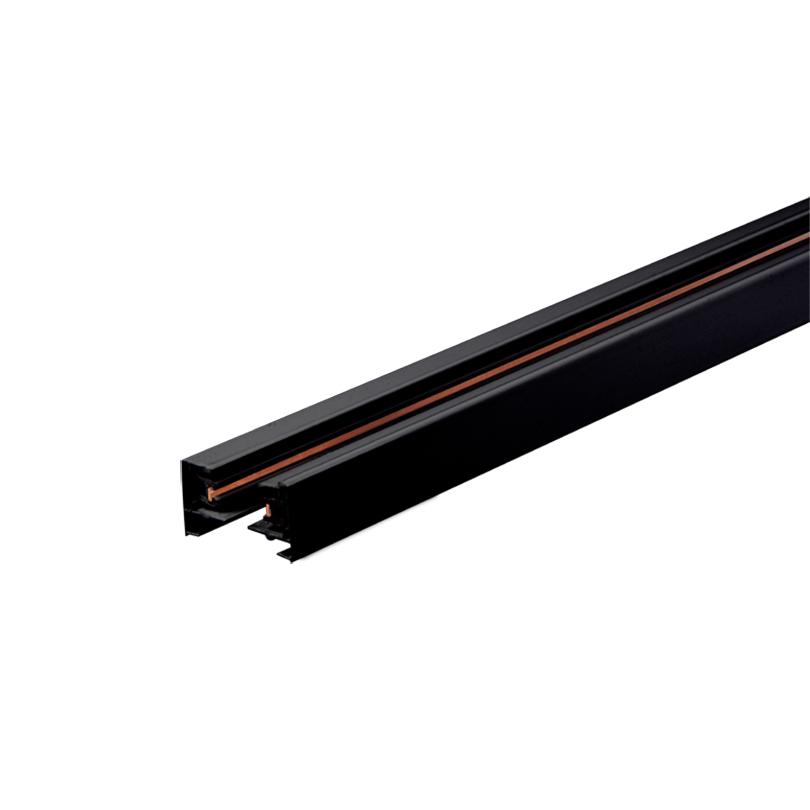 Шинопровод однофазный WOLTA WTL-TR2/02W 2м Чёрный