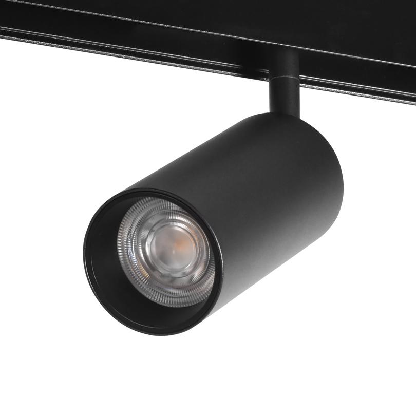 Трековый светодиодный светильник WOLTA WMLY-12W/02B 12Вт 3000К 48В IP40 Магнитный чёрный