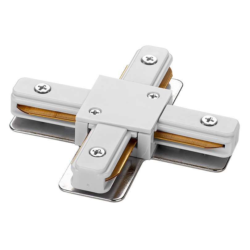 Коннектор Х-образный WOLTA WTL-XC/01W Белый