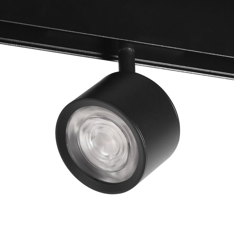 Трековый светодиодный светильник WOLTA WMLY-7W/01B 7Вт 3000К 48В IP40 Магнитный чёрный
