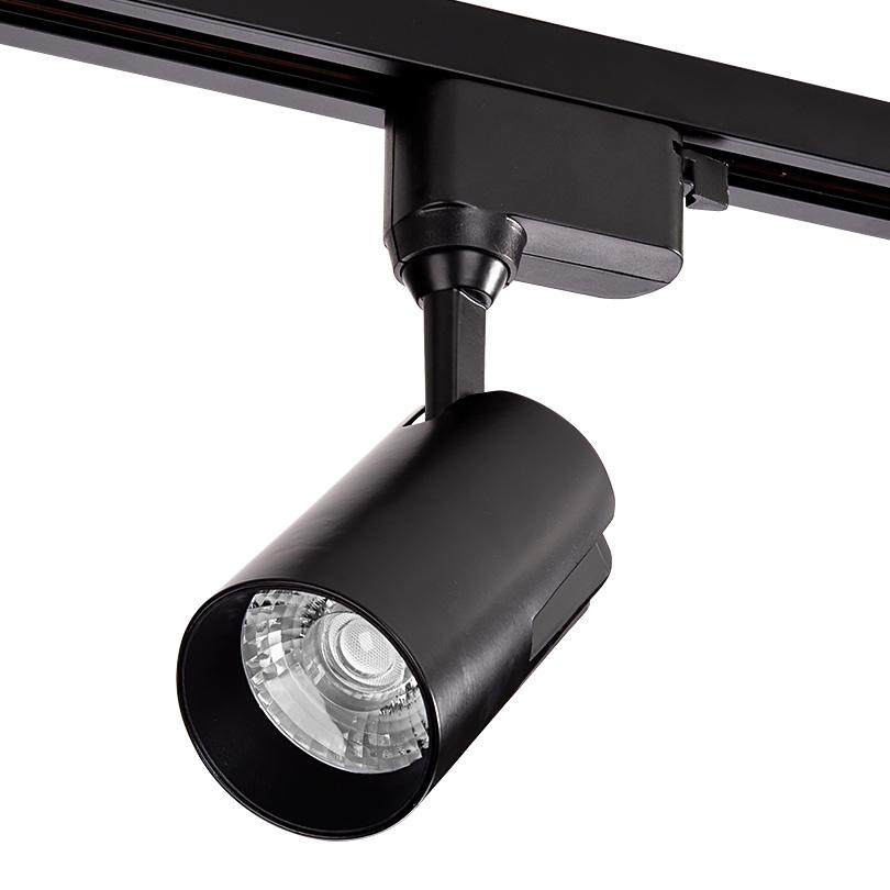 Трековый светодиодный светильник WOLTA WTL-25W/01B 25Вт 4000К IP40 Чёрный