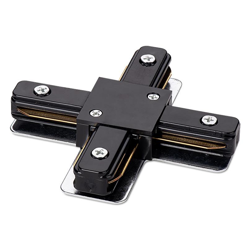 Коннектор Х-образный WOLTA WTL-XC/01B Чёрный