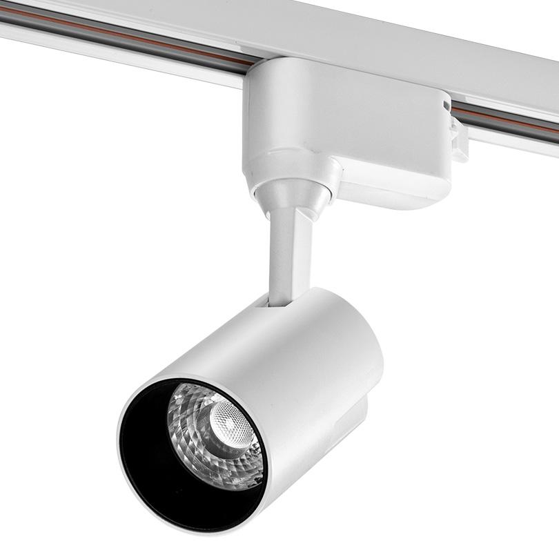 Трековый светодиодный светильник WOLTA WTL-15W/01W 15Вт 4000К IP40 Белый