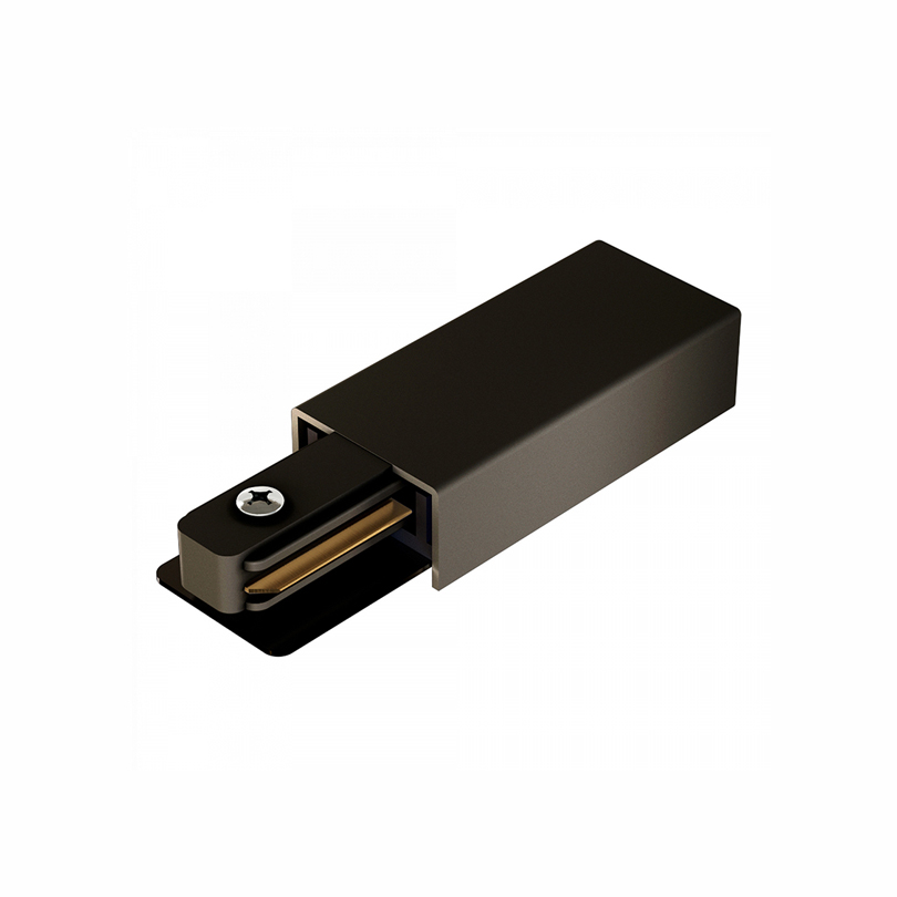 Ввод питания для шинопровода однофазного WOLTA WTL-PI/02B Чёрный